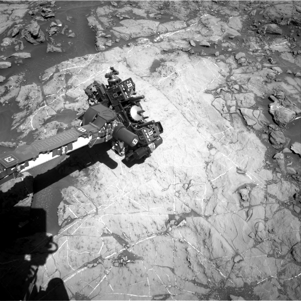 Nasa's Mars rover Curiosity acquired this image using its Right Navigation Camera on Sol 1260, at drive 2678, site number 52
