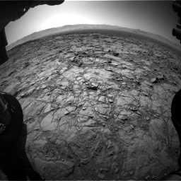 Nasa's Mars rover Curiosity acquired this image using its Front Hazard Avoidance Camera (Front Hazcam) on Sol 1262, at drive 3060, site number 52