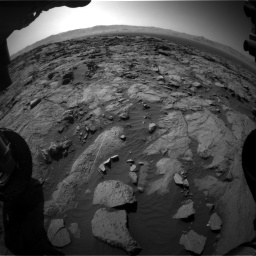 Nasa's Mars rover Curiosity acquired this image using its Front Hazard Avoidance Camera (Front Hazcam) on Sol 1262, at drive 3132, site number 52