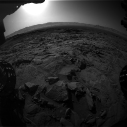 Nasa's Mars rover Curiosity acquired this image using its Front Hazard Avoidance Camera (Front Hazcam) on Sol 1262, at drive 3216, site number 52