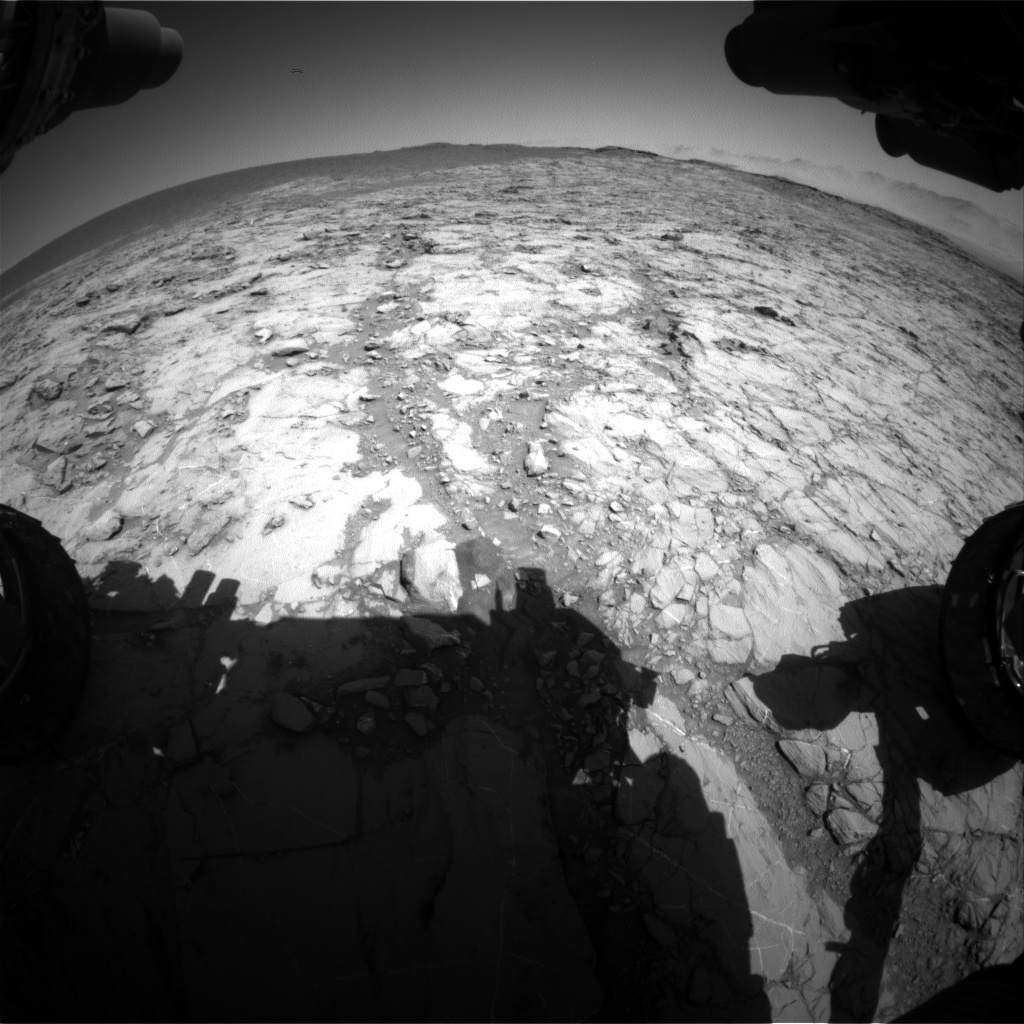 Nasa's Mars rover Curiosity acquired this image using its Front Hazard Avoidance Camera (Front Hazcam) on Sol 1262, at drive 2772, site number 52