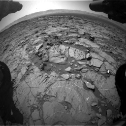 Nasa's Mars rover Curiosity acquired this image using its Front Hazard Avoidance Camera (Front Hazcam) on Sol 1262, at drive 3072, site number 52