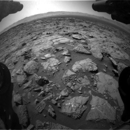 Nasa's Mars rover Curiosity acquired this image using its Front Hazard Avoidance Camera (Front Hazcam) on Sol 1262, at drive 3084, site number 52