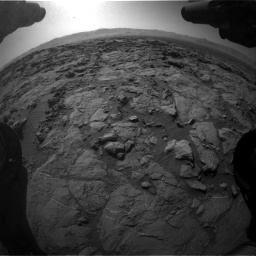 Nasa's Mars rover Curiosity acquired this image using its Front Hazard Avoidance Camera (Front Hazcam) on Sol 1262, at drive 3144, site number 52