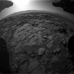 Nasa's Mars rover Curiosity acquired this image using its Front Hazard Avoidance Camera (Front Hazcam) on Sol 1262, at drive 3168, site number 52