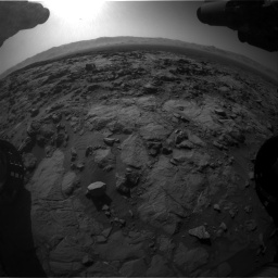 Nasa's Mars rover Curiosity acquired this image using its Front Hazard Avoidance Camera (Front Hazcam) on Sol 1262, at drive 3180, site number 52