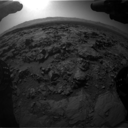 Nasa's Mars rover Curiosity acquired this image using its Front Hazard Avoidance Camera (Front Hazcam) on Sol 1262, at drive 3192, site number 52