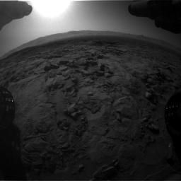 Nasa's Mars rover Curiosity acquired this image using its Front Hazard Avoidance Camera (Front Hazcam) on Sol 1262, at drive 3204, site number 52