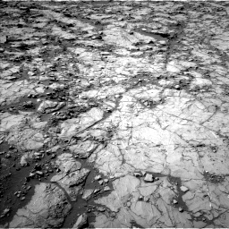 Nasa's Mars rover Curiosity acquired this image using its Left Navigation Camera on Sol 1262, at drive 2838, site number 52