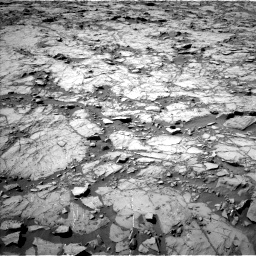 Nasa's Mars rover Curiosity acquired this image using its Left Navigation Camera on Sol 1262, at drive 2898, site number 52