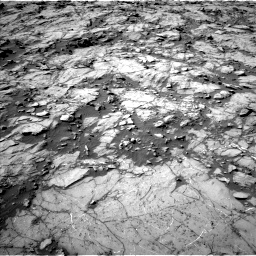 Nasa's Mars rover Curiosity acquired this image using its Left Navigation Camera on Sol 1262, at drive 2946, site number 52