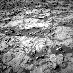Nasa's Mars rover Curiosity acquired this image using its Left Navigation Camera on Sol 1262, at drive 2994, site number 52