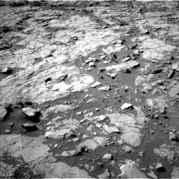 Nasa's Mars rover Curiosity acquired this image using its Left Navigation Camera on Sol 1262, at drive 3066, site number 52