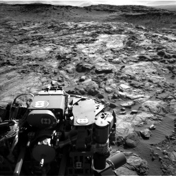 Nasa's Mars rover Curiosity acquired this image using its Left Navigation Camera on Sol 1262, at drive 3156, site number 52