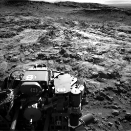 Nasa's Mars rover Curiosity acquired this image using its Left Navigation Camera on Sol 1262, at drive 3180, site number 52
