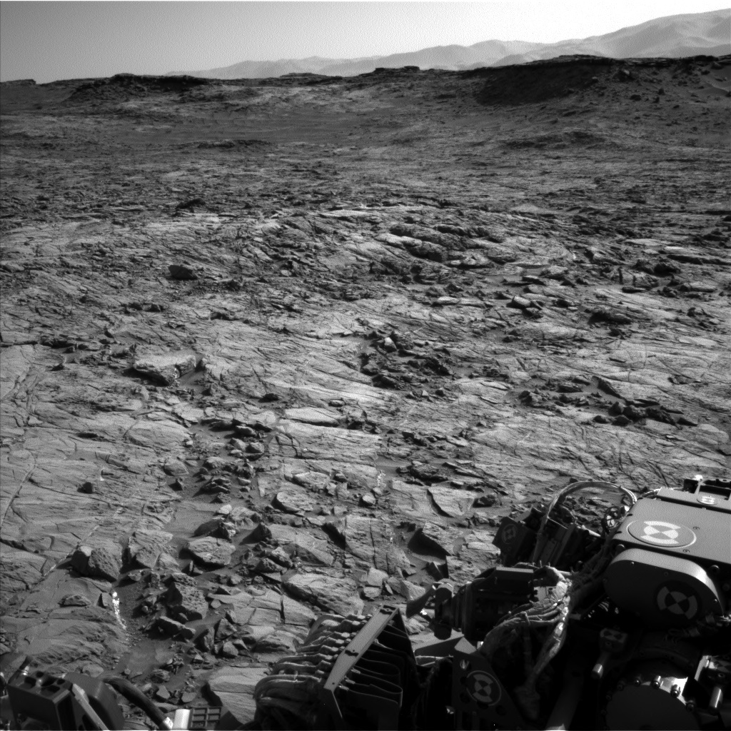 NASA's Mars rover Curiosity acquired this image using its Left Navigation Camera (Navcams) on Sol 1262