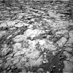Nasa's Mars rover Curiosity acquired this image using its Right Navigation Camera on Sol 1262, at drive 2850, site number 52