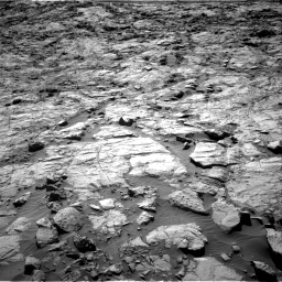 Nasa's Mars rover Curiosity acquired this image using its Right Navigation Camera on Sol 1262, at drive 3072, site number 52