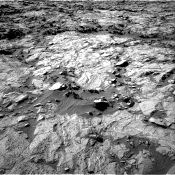 Nasa's Mars rover Curiosity acquired this image using its Right Navigation Camera on Sol 1262, at drive 3120, site number 52