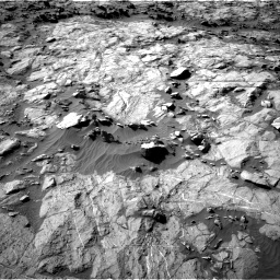 Nasa's Mars rover Curiosity acquired this image using its Right Navigation Camera on Sol 1262, at drive 3126, site number 52