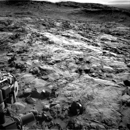 Nasa's Mars rover Curiosity acquired this image using its Right Navigation Camera on Sol 1262, at drive 3192, site number 52