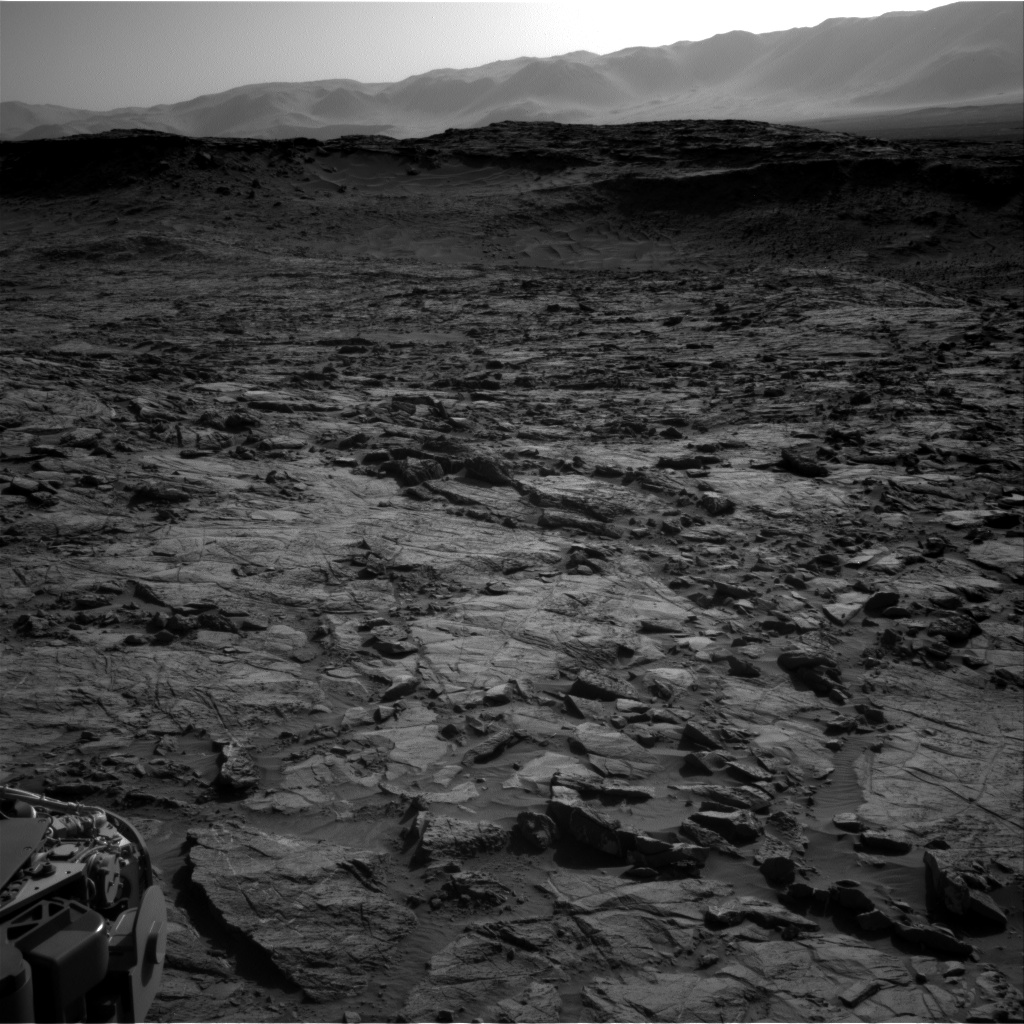 Nasa's Mars rover Curiosity acquired this image using its Right Navigation Camera on Sol 1262, at drive 0, site number 53