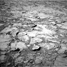 Nasa's Mars rover Curiosity acquired this image using its Left Navigation Camera on Sol 1264, at drive 6, site number 53