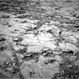 Nasa's Mars rover Curiosity acquired this image using its Left Navigation Camera on Sol 1264, at drive 18, site number 53