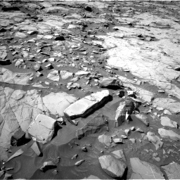 Nasa's Mars rover Curiosity acquired this image using its Left Navigation Camera on Sol 1264, at drive 42, site number 53