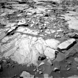 Nasa's Mars rover Curiosity acquired this image using its Left Navigation Camera on Sol 1264, at drive 48, site number 53