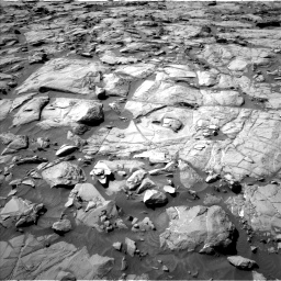 Nasa's Mars rover Curiosity acquired this image using its Left Navigation Camera on Sol 1264, at drive 66, site number 53