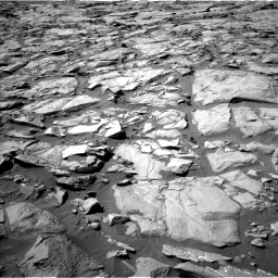Nasa's Mars rover Curiosity acquired this image using its Left Navigation Camera on Sol 1264, at drive 84, site number 53