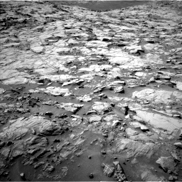 Nasa's Mars rover Curiosity acquired this image using its Left Navigation Camera on Sol 1264, at drive 120, site number 53