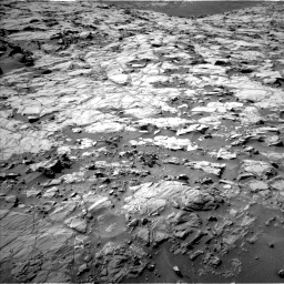 Nasa's Mars rover Curiosity acquired this image using its Left Navigation Camera on Sol 1264, at drive 126, site number 53