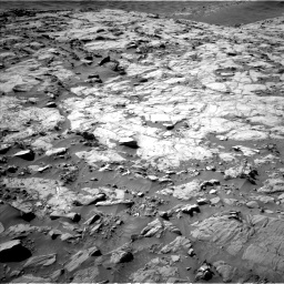 Nasa's Mars rover Curiosity acquired this image using its Left Navigation Camera on Sol 1264, at drive 138, site number 53