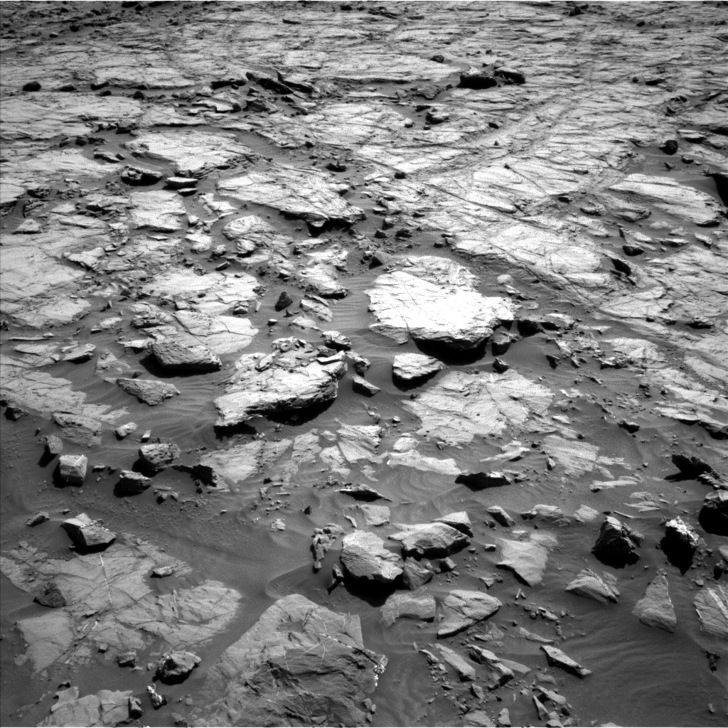 Nasa's Mars rover Curiosity acquired this image using its Left Navigation Camera on Sol 1264, at drive 150, site number 53