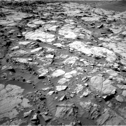 Nasa's Mars rover Curiosity acquired this image using its Left Navigation Camera on Sol 1264, at drive 162, site number 53