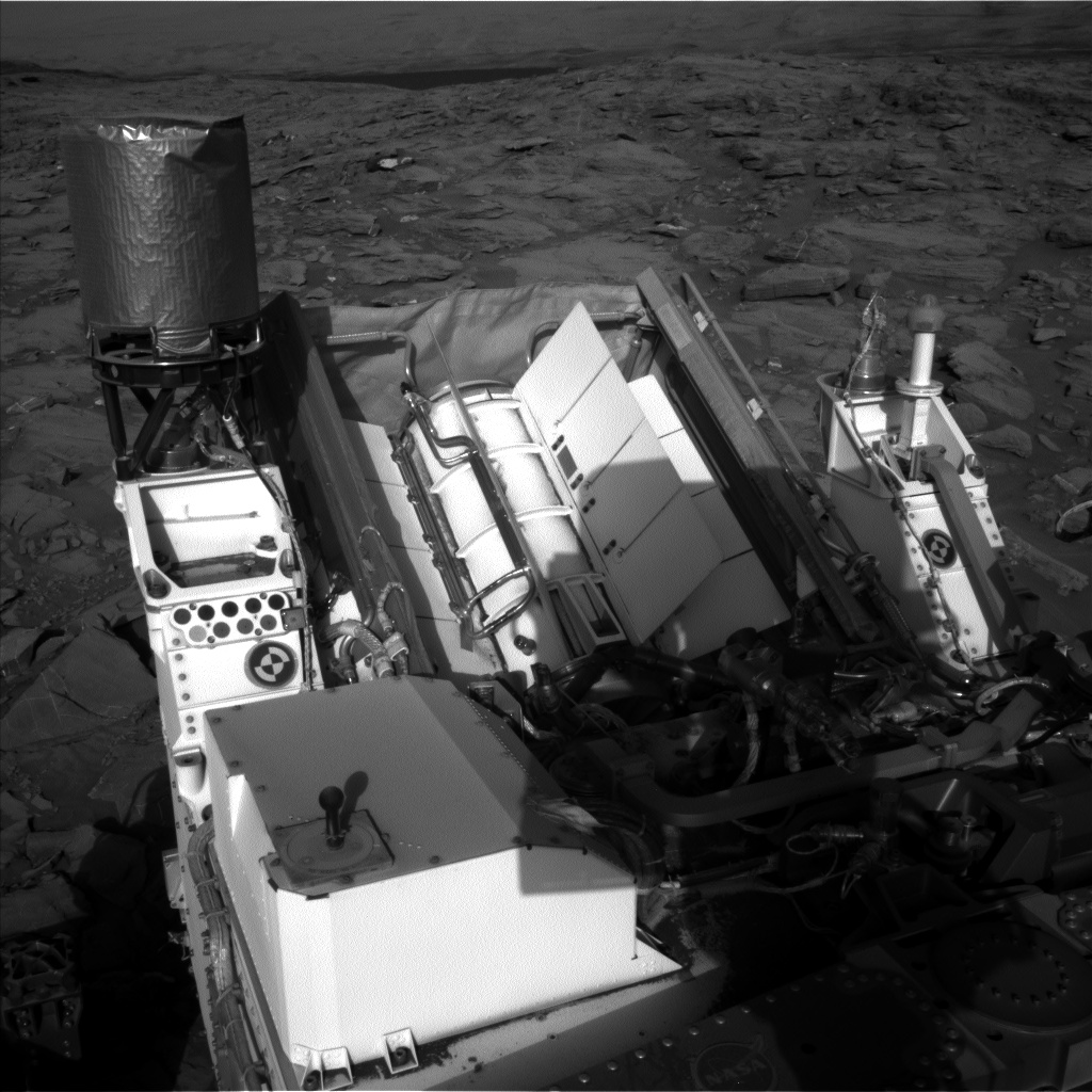 Nasa's Mars rover Curiosity acquired this image using its Left Navigation Camera on Sol 1264, at drive 186, site number 53