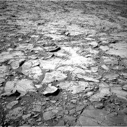 Nasa's Mars rover Curiosity acquired this image using its Right Navigation Camera on Sol 1264, at drive 6, site number 53
