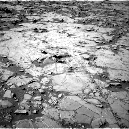 Nasa's Mars rover Curiosity acquired this image using its Right Navigation Camera on Sol 1264, at drive 30, site number 53
