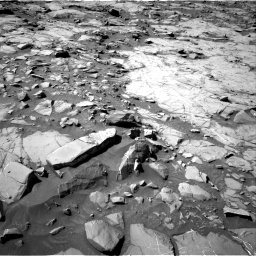 Nasa's Mars rover Curiosity acquired this image using its Right Navigation Camera on Sol 1264, at drive 42, site number 53