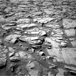 Nasa's Mars rover Curiosity acquired this image using its Right Navigation Camera on Sol 1264, at drive 90, site number 53