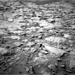 Nasa's Mars rover Curiosity acquired this image using its Right Navigation Camera on Sol 1264, at drive 120, site number 53