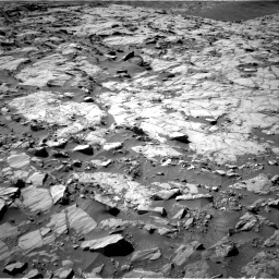Nasa's Mars rover Curiosity acquired this image using its Right Navigation Camera on Sol 1264, at drive 144, site number 53