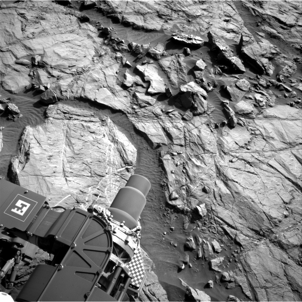 NASA's Mars rover Curiosity acquired this image using its Right Navigation Cameras (Navcams) on Sol 1264
