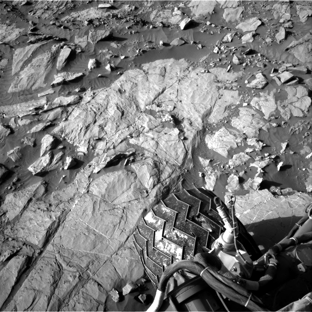 Nasa's Mars rover Curiosity acquired this image using its Right Navigation Camera on Sol 1264, at drive 186, site number 53
