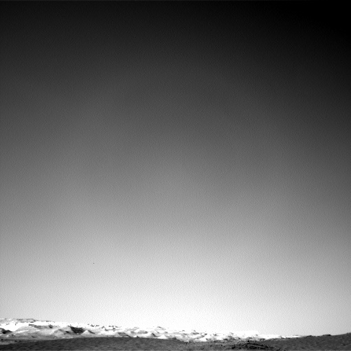 NASA's Mars rover Curiosity acquired this image using its Left Navigation Camera (Navcams) on Sol 1265