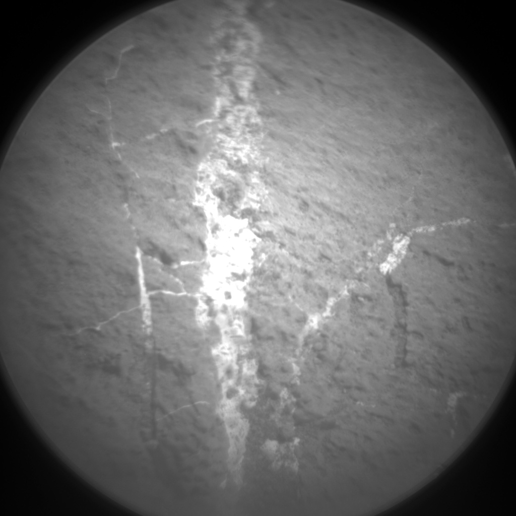 Nasa's Mars rover Curiosity acquired this image using its Chemistry & Camera (ChemCam) on Sol 1266, at drive 186, site number 53