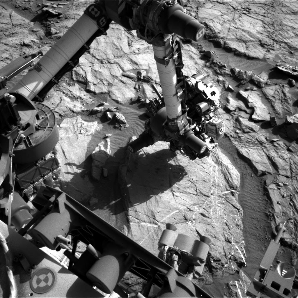 Nasa's Mars rover Curiosity acquired this image using its Left Navigation Camera on Sol 1266, at drive 186, site number 53