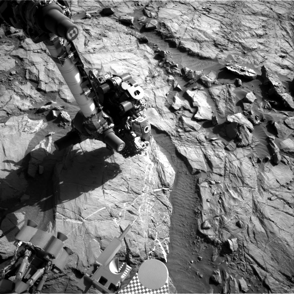 Nasa's Mars rover Curiosity acquired this image using its Right Navigation Camera on Sol 1266, at drive 186, site number 53